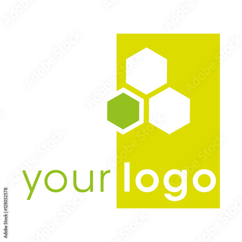 Modern Logo Design Logotype For Different Companies As Food Honey