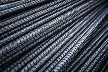 Steel rebars for reinforcement concrete