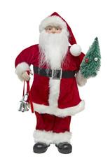 Santa Claus doll isolated