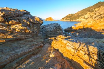 Argentario Isola Rossa Spiaggia del mar Morto