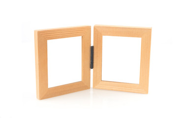 picture frame on isolated white background.
