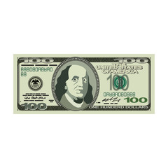 Financial Icons. Money sign. Dollar symbol. Cash emblem.