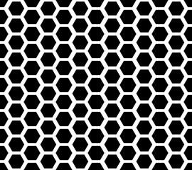 Honeycomb seamless pattern 1