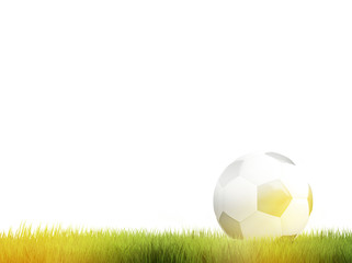 sport football ball 3d render