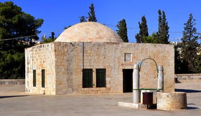 Hebrondom auf dem Tempelberg von Jerusalem