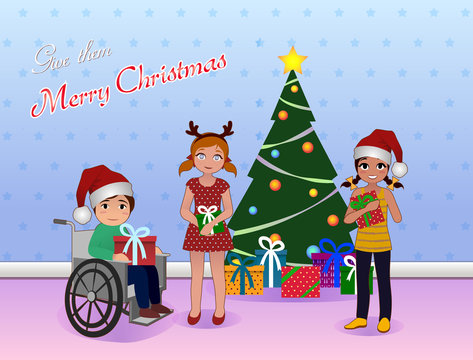 Share Cristmas for Special needs children