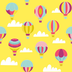Hot air ballon pattern