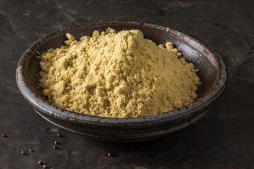 Ground Yellow Mustard