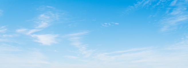 blue sky in California