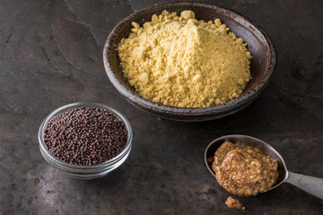 Mustard in Three Forms