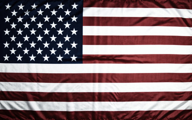 American flag of the USA with a bleached effect. A symbol of celebration.