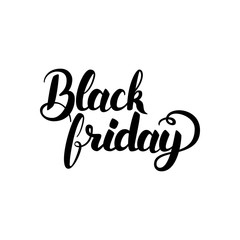 Black Friday Handwritten Calligraphy