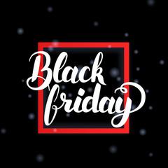 Black Friday in Frame