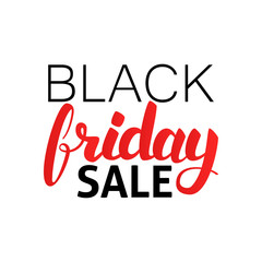 Black Friday Sale Hand Drawn Lettering