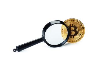 Photo Golden Bitcoin