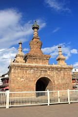 Varja Pagoda, Guandu ancient city ,Kunming, China