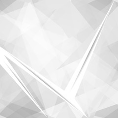 Lowpoly Trendy Background with Copyspace. Color Material design. illustration.