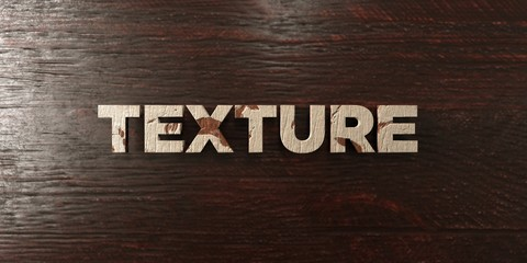 Texture - grungy wooden headline on Maple  - 3D rendered royalty free stock image. This image can be used for an online website banner ad or a print postcard.