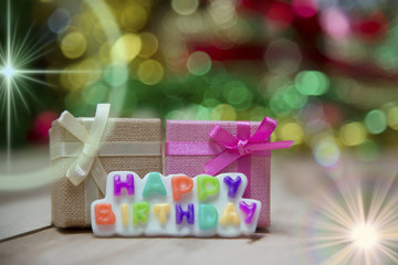 Text Happy Birthday View Beautiful