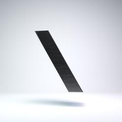 3D Metal Letter