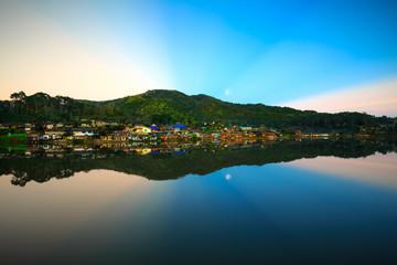 Ban Rak Thai, a Chinese settlement in Mae Hong Son province