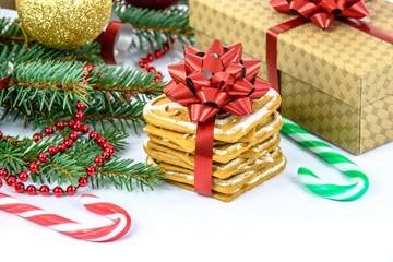 Christmas sweets and gifts