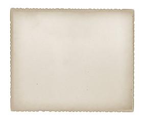 Paper sheet isoalted.