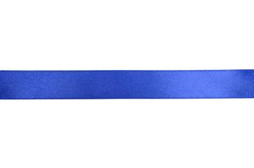 Shiny blue ribbon