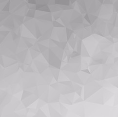 Abstract white polygonal background design templates or Light wh