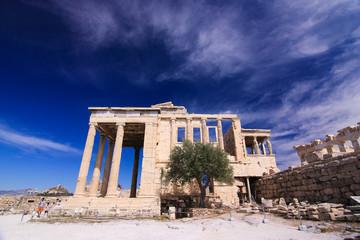 View on Parthenon, Acropolis. Athene, Greece.