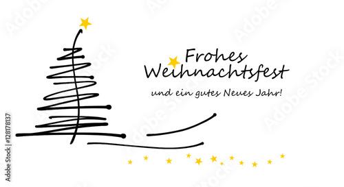 weihnachtskarte frohe weihnachten und ein gutes neues. Black Bedroom Furniture Sets. Home Design Ideas