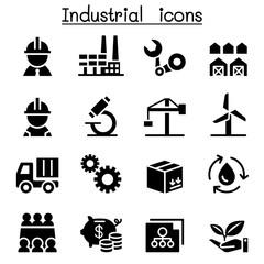 Basic Industrial icon set