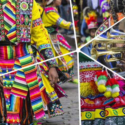 """Peru Travel Tips Common Peruvian Phrases For Travel: """"Collage Of Peru Traditional Culture Images"""