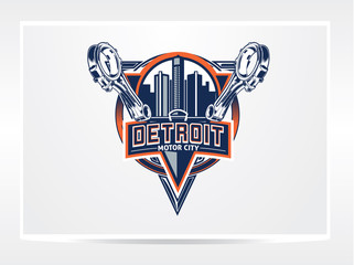 detroit city logo