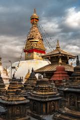 Swayambhunath - tempio delle scimmie - Katmandu