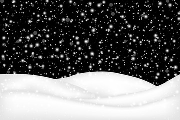 falling snow landscape background beautiful banner wallpaper des