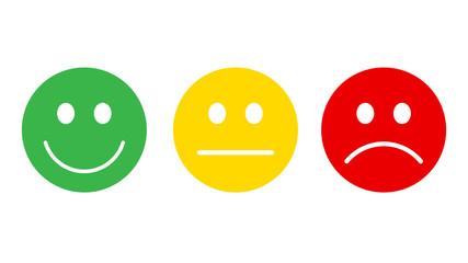 Smiley icon set vector