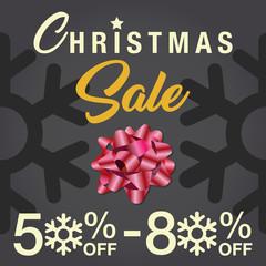 Christmas Sale background