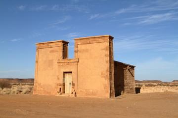 Die Tempel von Naga in der Sahara vom Sudan