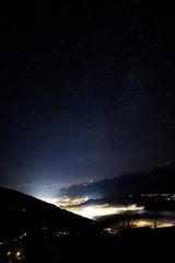 Inntal bei Nacht