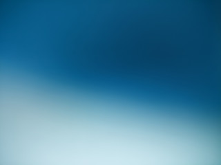 From blue to white gradient background
