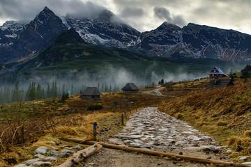 Fototapeta Tatry Hala Gąsienicowa obraz