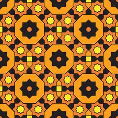 Arabian geometric colorful pattern 24