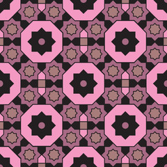 Arabian geometric colorful pattern 14