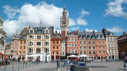 Grand'place à Lille (France)