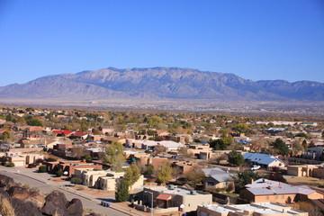 village near Albuquerque