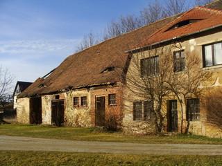 ländliche alte Architektur