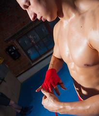Boxer arm bandage