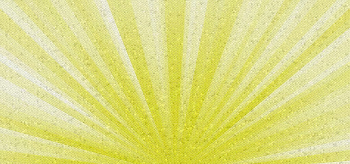 colorful abstract mosaic sun rays background. Decorative tiles texture yellow, white