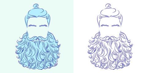 beard god neptune
